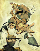 Ibuki street-fighter-wallpaper-by scabrouspencil