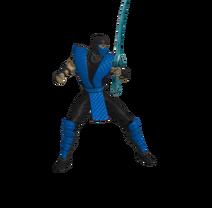 Pose de pelea(Con espada)