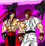 Lui kang vs ryu mk sf by luis mortalkombat14-d55ghow