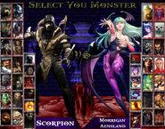 Monster kombatants vs darkstalkers by sprite genius-d700vau