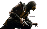 Mortal kombat x scorpion render by crussong-d7nqhvu