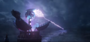 Mortal Engines - Extended Look (HD) - Medusa firing weapon