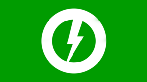 Green storm flag by party9999999-d4bawgk