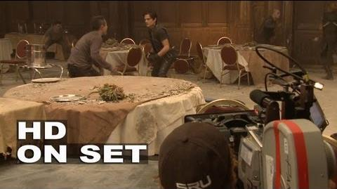 The Mortal Instruments City of Bones BTS B-roll 2
