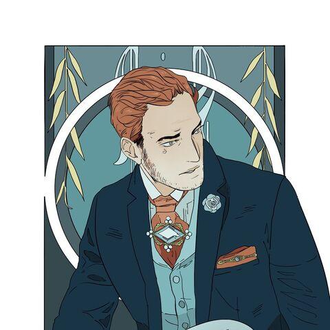 Henry's Aquamarine Portrait