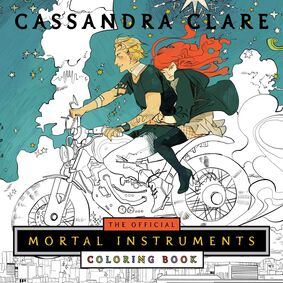The Official Mortal Instruments Coloring Book TMICB Cover
