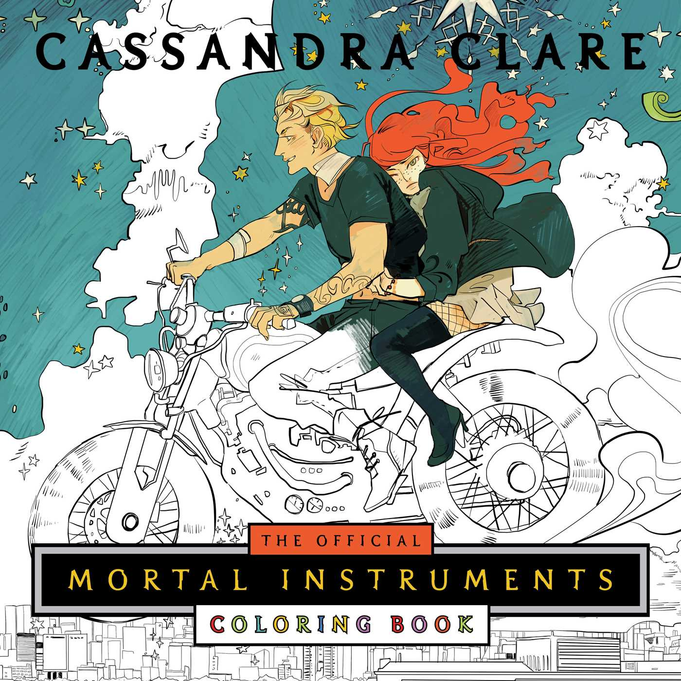 The Official Mortal Instruments Coloring Book | The Shadowhunters ...