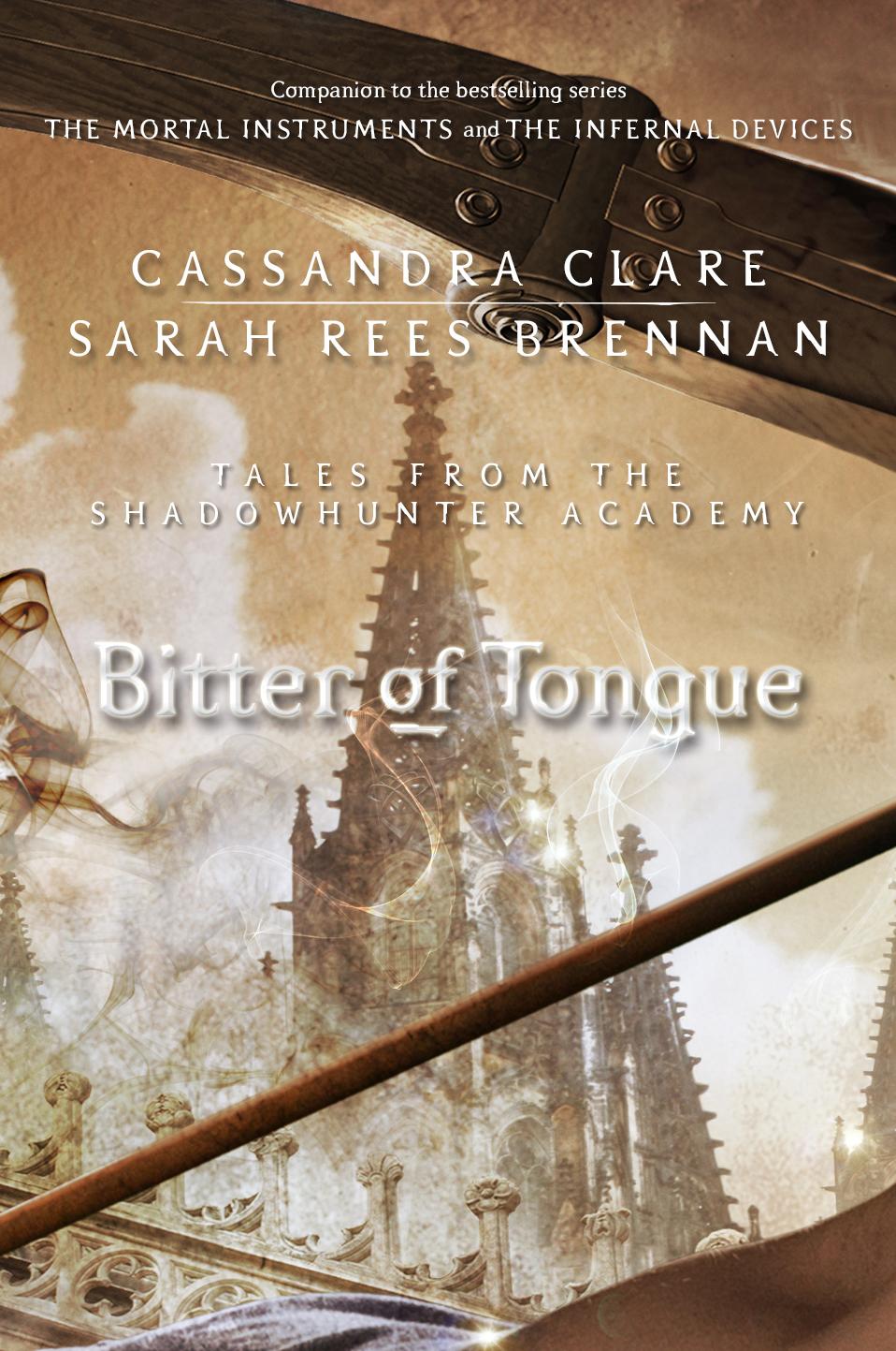 Resultado de imagen para bitter of tongue cassandra clare