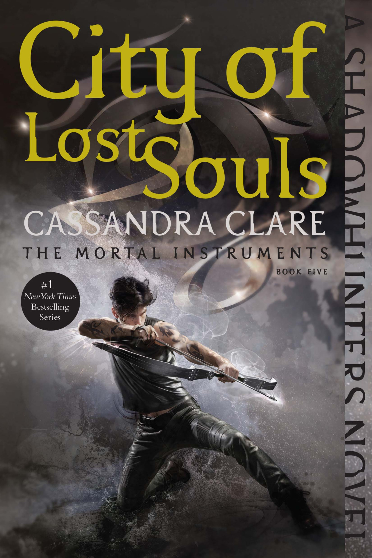 cover letter books%0A City of Lost Souls