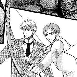Gideon and Gabriel in the manga
