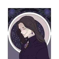 Sophie's Amethyst Portrait