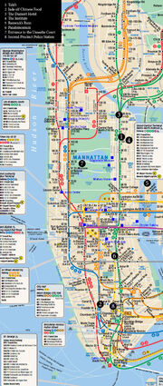 Map - Manhattan
