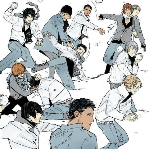 <i>Shadowhunter Chronicles</i> boys