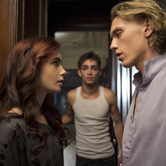 Clary, Jace, and Simon