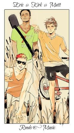 CJ Flowers, Eric, Kirk & Matt