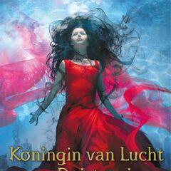 Dutch cover (<i>Koningin van Lucht en Duisternis</i>)