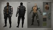 MKX Jax Concept Art 4