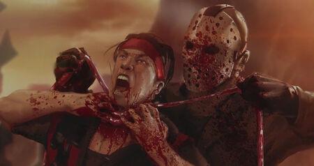 Jason mata a Liu Kang