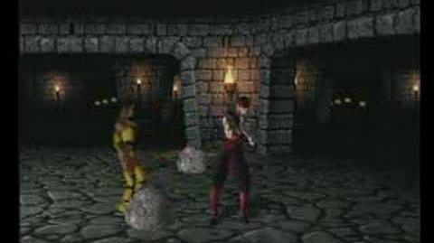 Mortal Kombat Tanya Trading Card