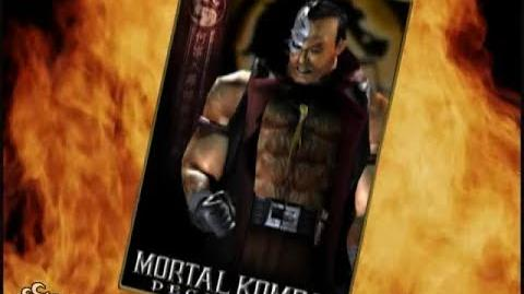 HQ Mortal Kombat Deception - Kano Trading Card