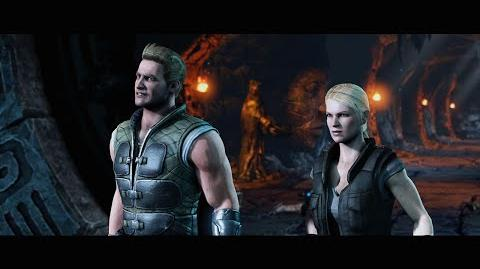 Mortal Kombat X Official Cage Family Trailer