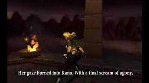 Mortal Kombat Armageddon Sonya Ending