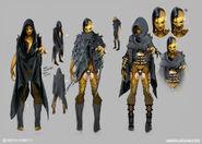 Mortal Kombat X MKX Concept Art MN Dvorah 06