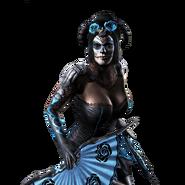 Kitana Render MKXL Halloween