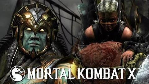 Mortal Kombat X - Kotal Kahn vs Ferra Torr PS4 Gameplay TRUE-HD QUALITY