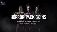 MKX Horror Pack skins