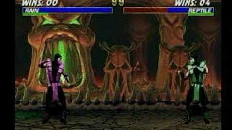Mortal Kombat Rain Trading Card