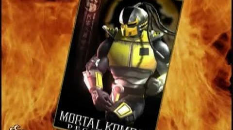 HQ Mortal Kombat Deception - Cyrax Trading Card