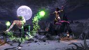 MK9 360º JohnnyCage vs Mileena Pit