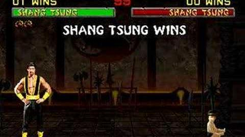 Mortal Kombat II - Babality - Shang Tsung