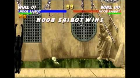 Dead Pool Stage Fatality Mortal Kombat Trilogy