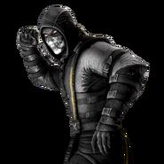 Mortal Kombat X IOS Black Scorpion Render