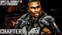 Mortal Kombat 9 (PS3) - Story Mode - Chapter 6 Jax Gameplay Playthrough