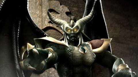 Mortal Kombat Onaga Trading Card