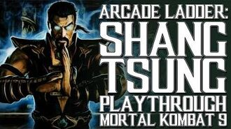 Mortal Kombat 9 (PS3) - Arcade Ladder Shang Tsung Playthrough Gameplay