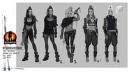 Mortal Kombat X MKX Concept Art MN Jacqui Briggs 01