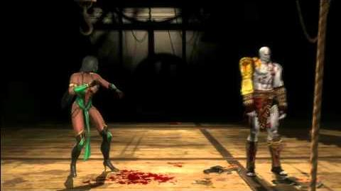 Mortal Kombat 9 Jade - all fatalities