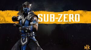 Sub Zero Mk11
