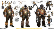 Mortal Kombat X MKX Concept Art MN Master Blaster speed1 03
