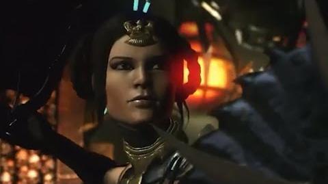 Mortal Kombat X Kitana Cassie Cage Intro Dialogue Mortal Kombat 10