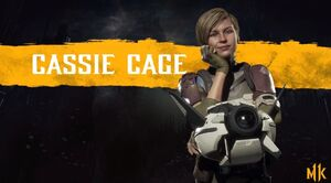 Cassie Cage Mk11