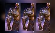 Mortal Kombat X MKX Concept Art MN Jax arms