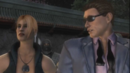 Johnny Cage flirts with Sonya - Cópia