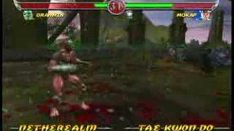 Mortal Kombat Drahmin Trading Card