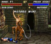 Motaro Wins