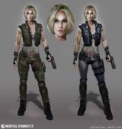 Mortal Kombat X MKX Concept Art MN Sonya 01